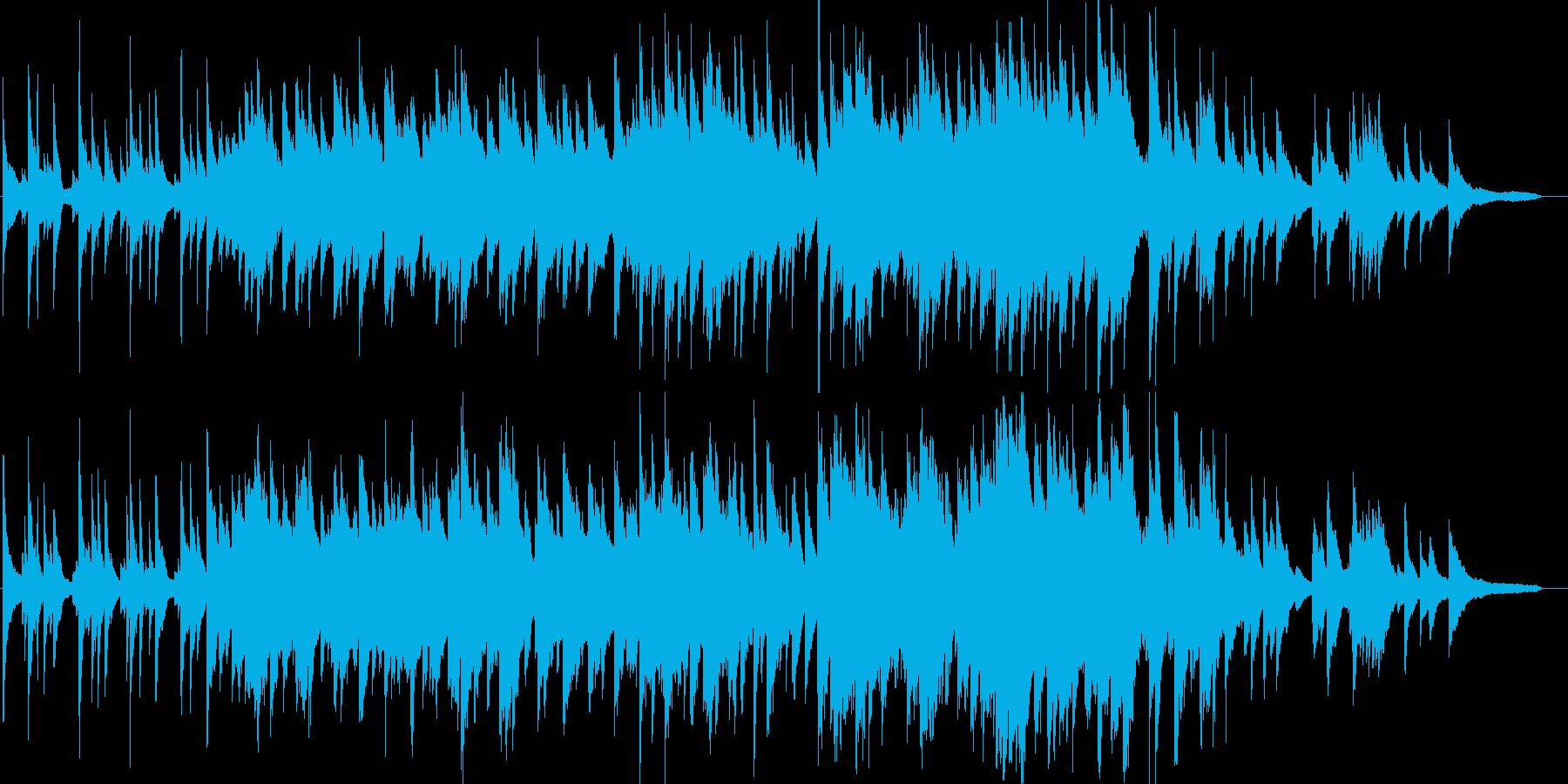 感動・爽やか・ピアノソロ・イベント・映像の再生済みの波形