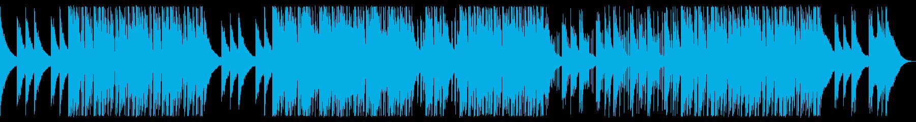 疾走感あるドラムンベースの再生済みの波形