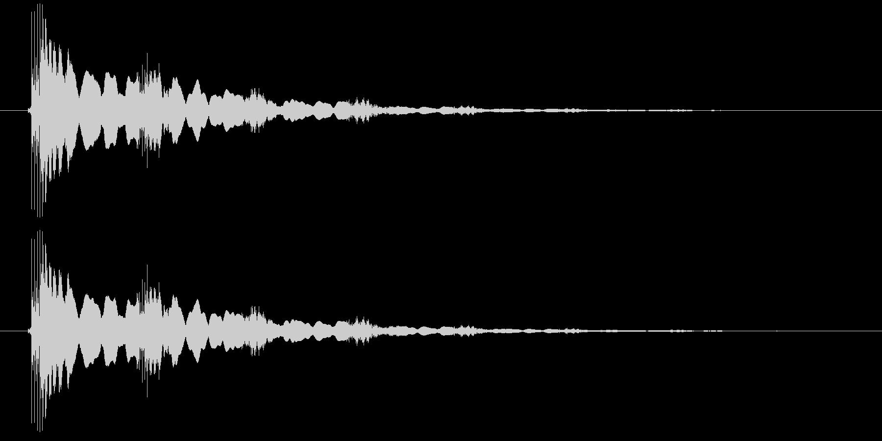 エレキギター(効果音)の未再生の波形