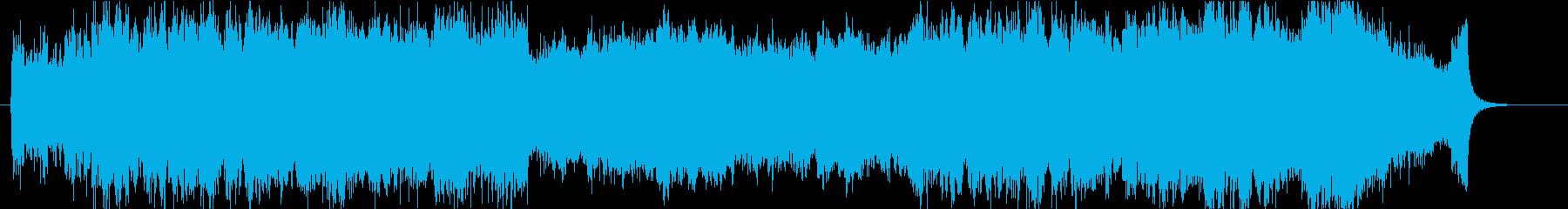 壮大、感動のオーケストラオープニングbの再生済みの波形
