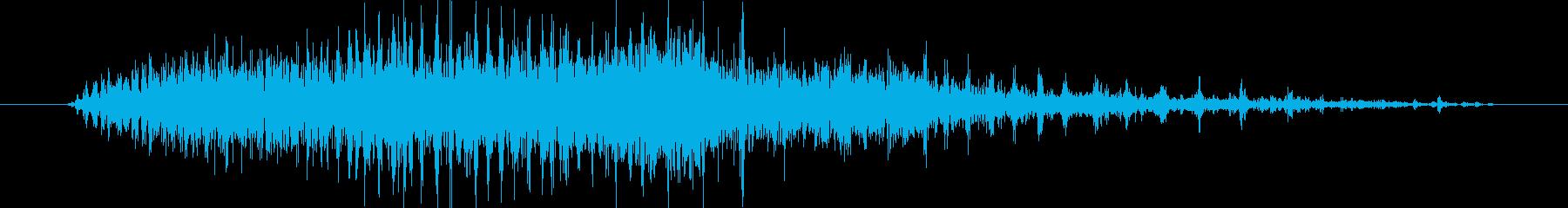 振動サンダー:誤った開始、サンディ...の再生済みの波形
