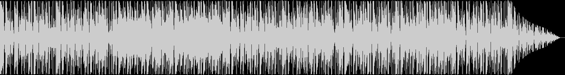 定番曲:のどかな日常の未再生の波形