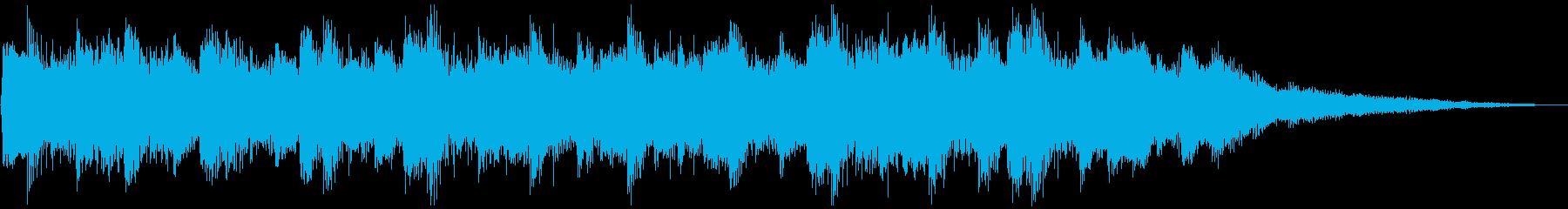 せつない感じの ピアノ&ストリングス②の再生済みの波形