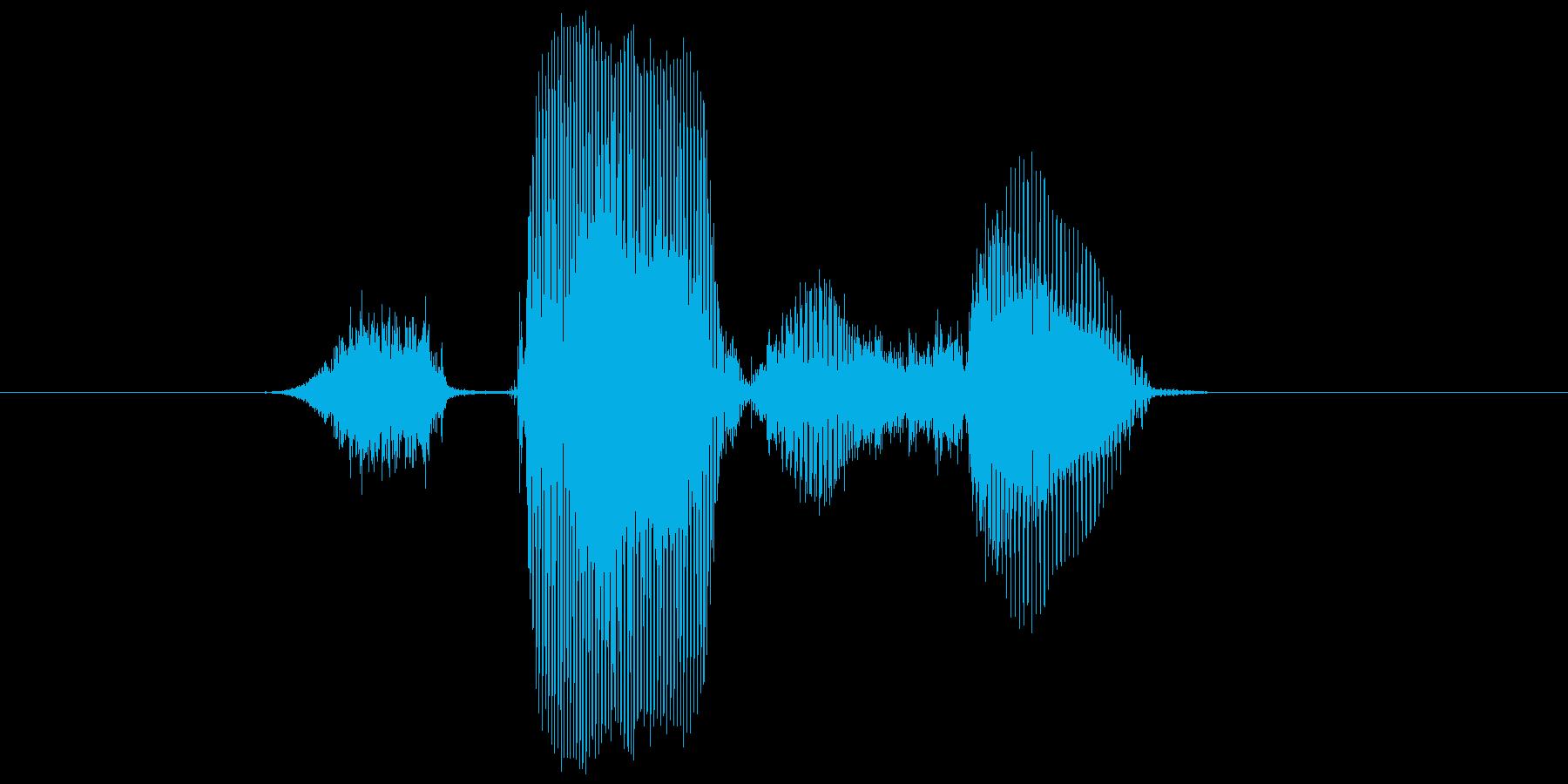 ステージ3(さん)の再生済みの波形