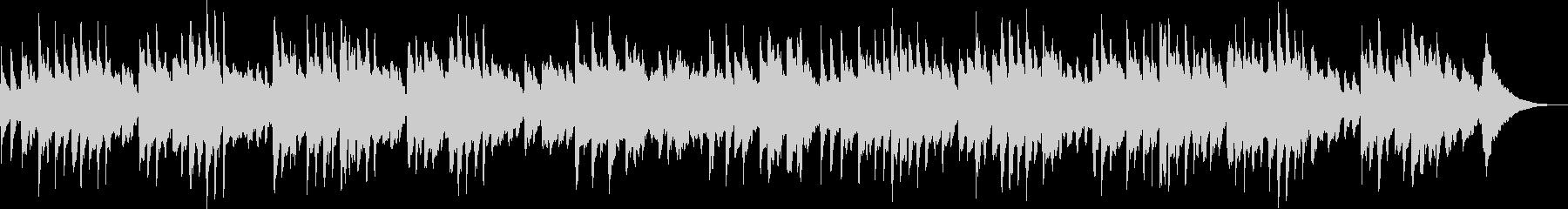 オルゴールの可愛い曲の未再生の波形