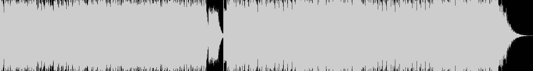 【EDM】アグレッシヴな迫力の一曲の未再生の波形