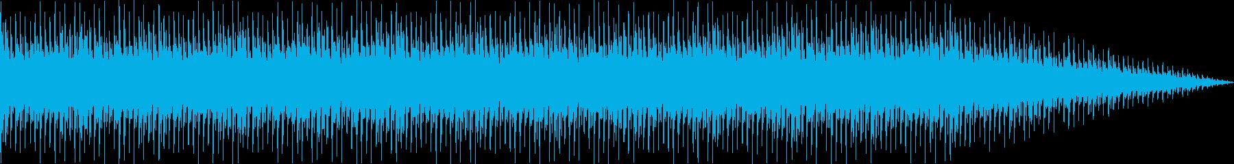 ループ。メロディのないバックグラウ...の再生済みの波形
