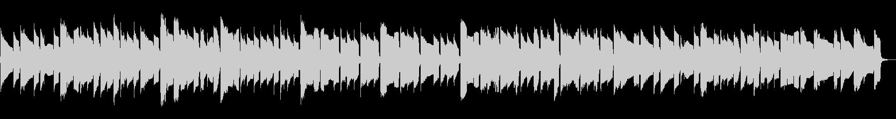 角笛をイメージしたオカリナの未再生の波形