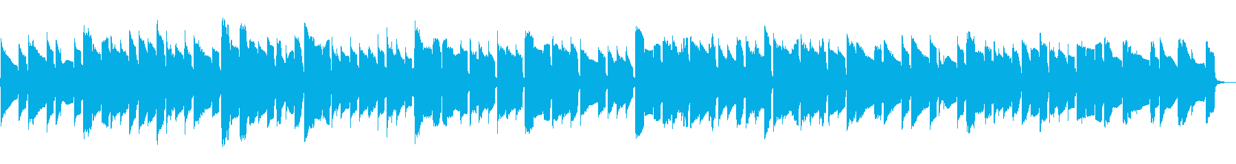 角笛をイメージしたオカリナの再生済みの波形