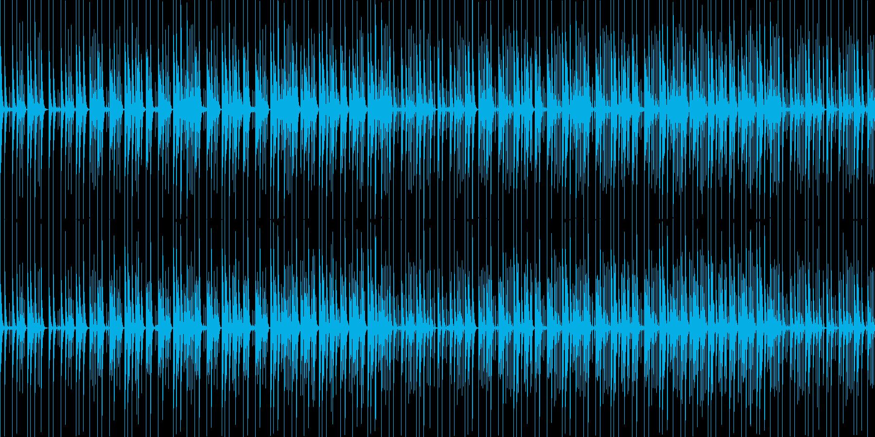 【ループ版】YouTube 木琴・日常の再生済みの波形