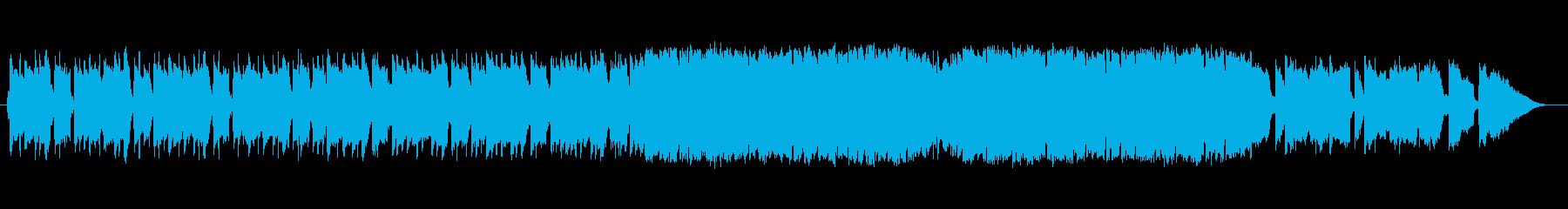 日常+ちょっとしたワクワク感の再生済みの波形