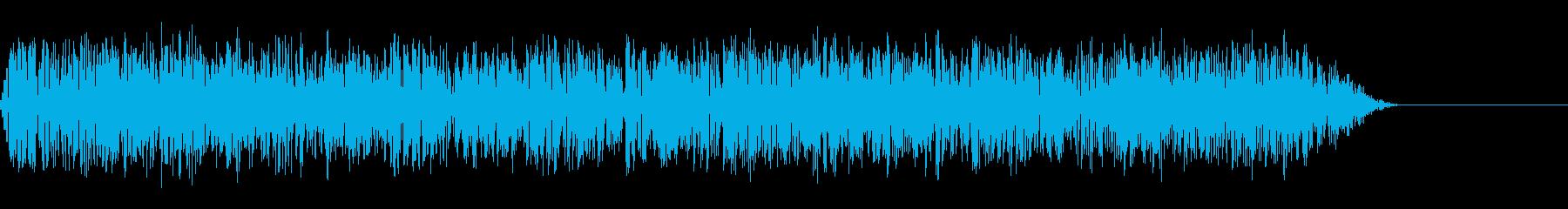 ゴー(ノイズ,衝撃,嵐,爆風,爆弾の再生済みの波形