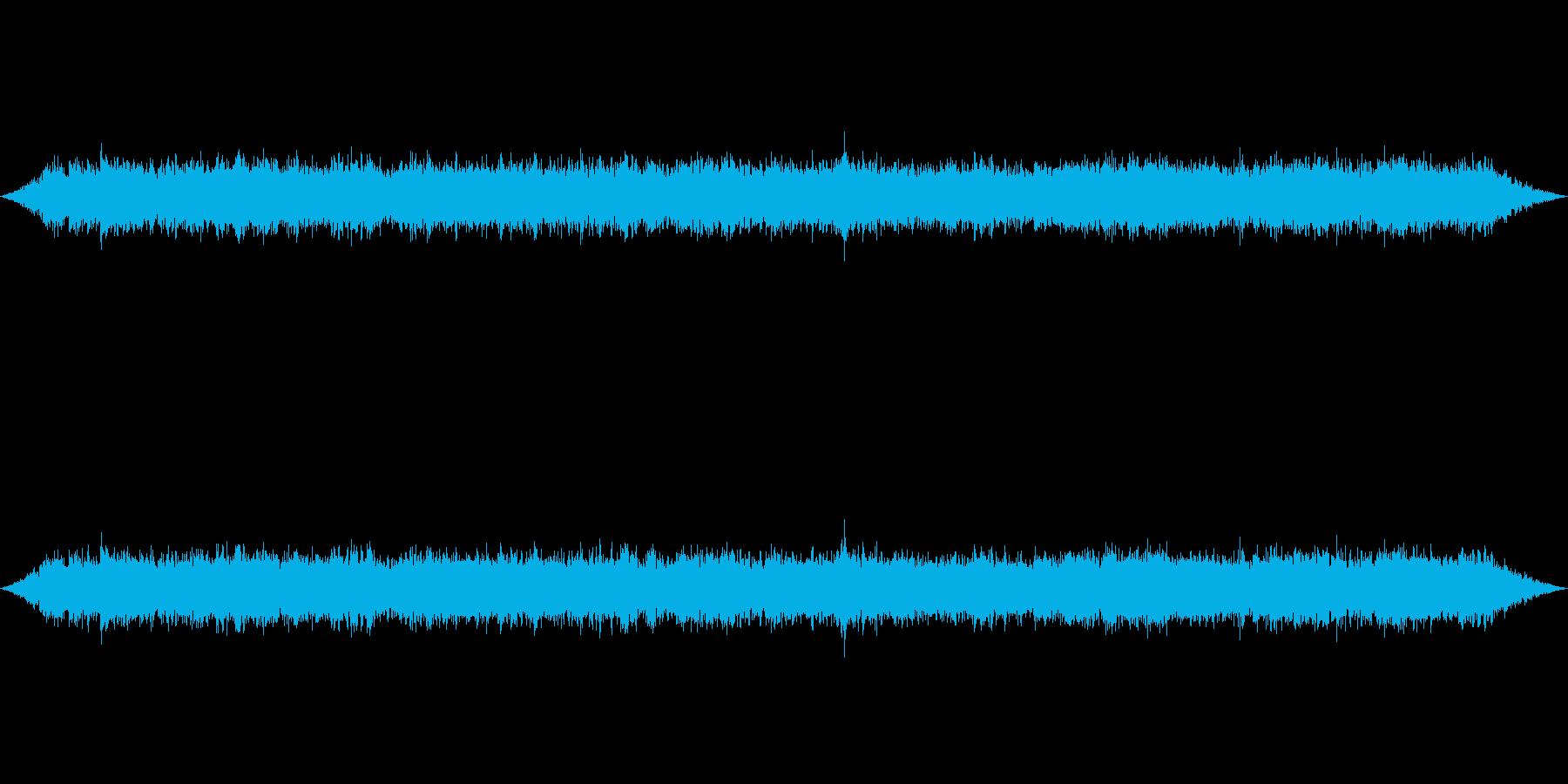 ざわざわ高音質で収録の再生済みの波形