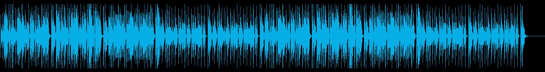 ハプニング ドタバタ コミカル ポップの再生済みの波形