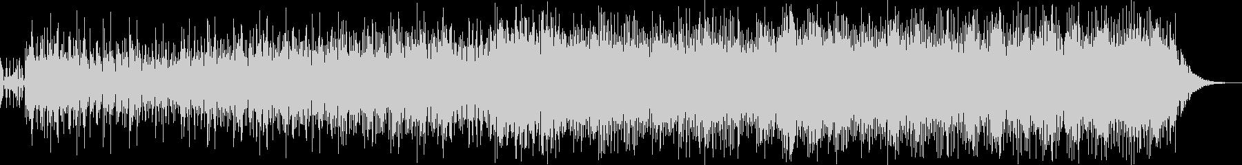 3分BGM ピアノと環境音の未再生の波形