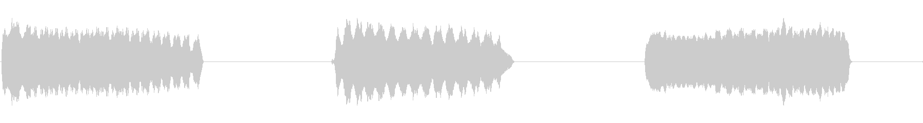 トーンシンセホイッスルウォブルファーストの未再生の波形
