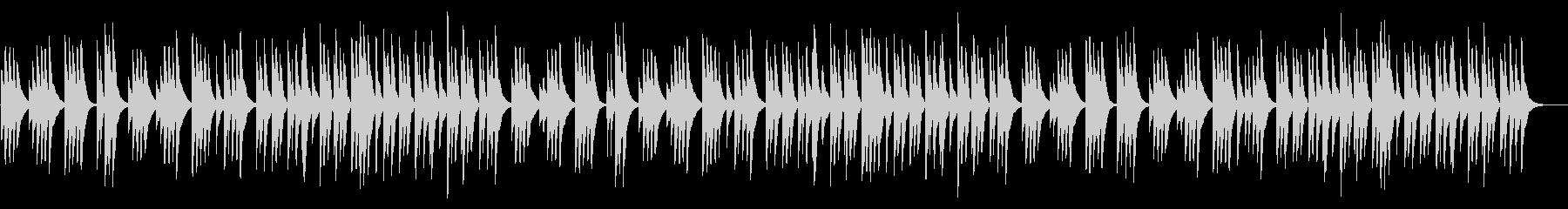 ジングルベル 18弁オルゴールの未再生の波形