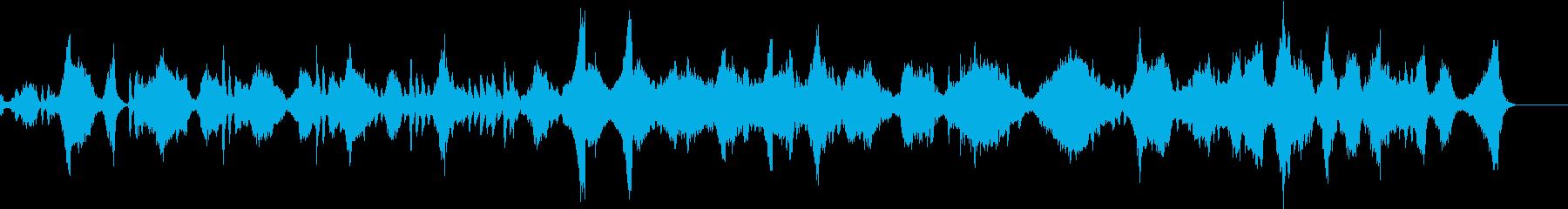 情緒あふれるストリングスアンサンブルの再生済みの波形