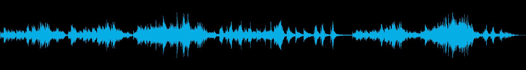 別れの曲の再生済みの波形
