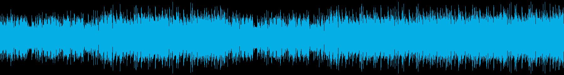 映像・穏やかな夏の日常・ループの再生済みの波形
