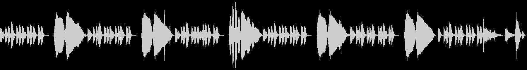 音遊びスチールドラム・トロンボーン生CMの未再生の波形