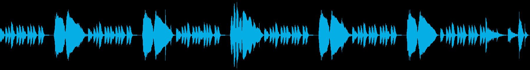 音遊びスチールドラム・トロンボーン生CMの再生済みの波形