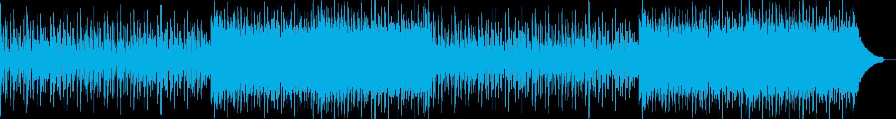 企業VPや映像46、壮大、オーケストラaの再生済みの波形