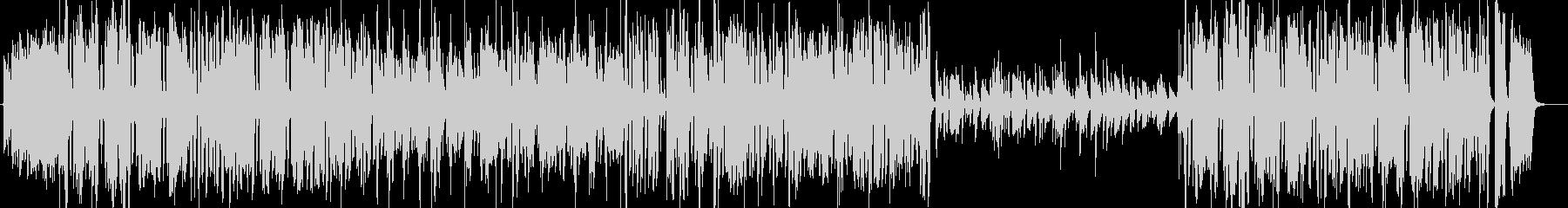 ベートーベン第九 歓喜の歌 ビッグバンドの未再生の波形