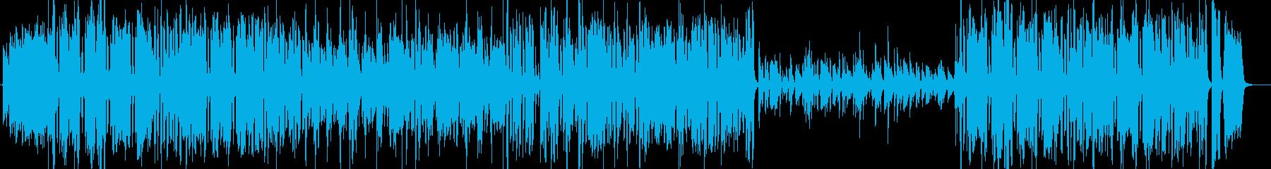 ベートーベン第九 歓喜の歌 ビッグバンドの再生済みの波形