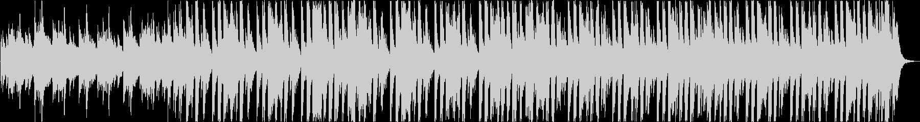 かわいいレトロ軽快エレクトロポップbの未再生の波形