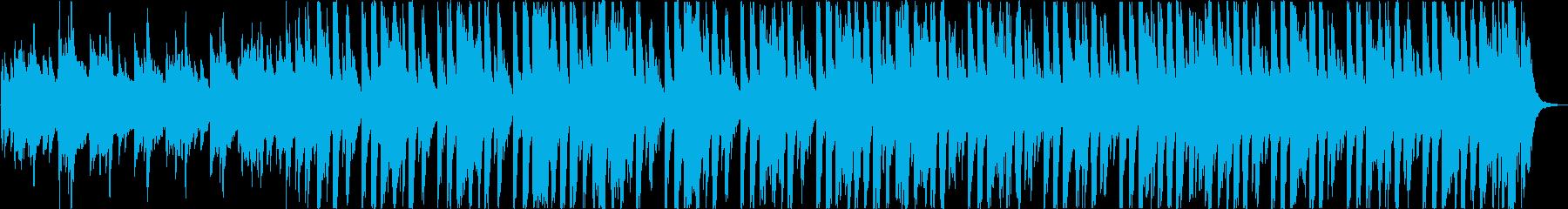 かわいいレトロ軽快エレクトロポップbの再生済みの波形