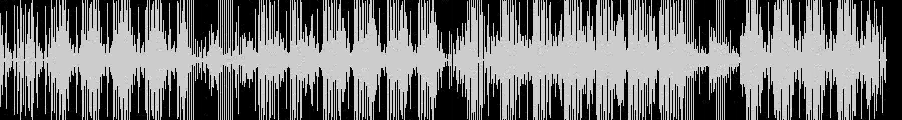 クールでゆったりなヒップホップBGMの未再生の波形