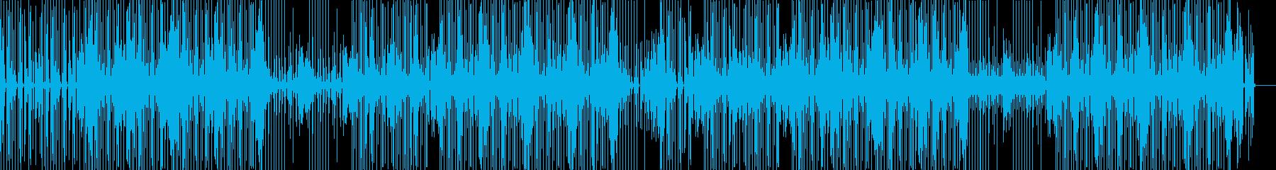 クールでゆったりなヒップホップBGMの再生済みの波形