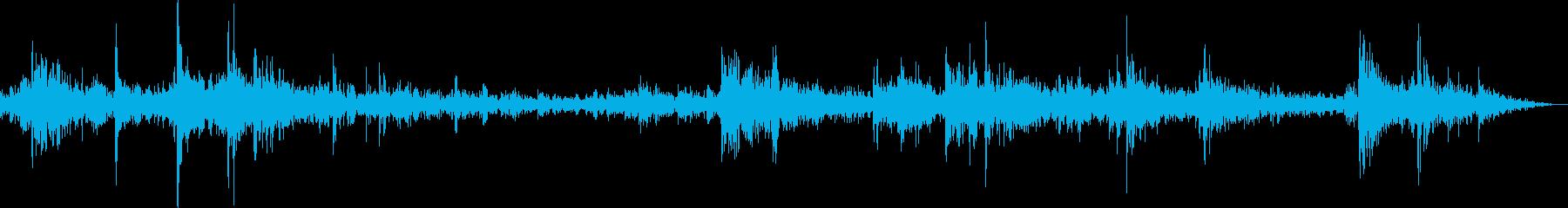 ドラムカンが転がるの再生済みの波形