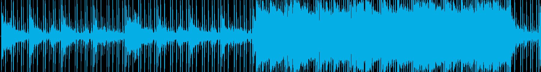 クールで綺麗な物悲しいBGM_LOOPの再生済みの波形