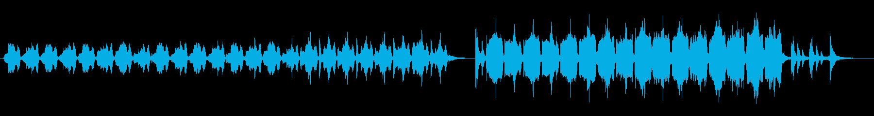 不思議で奇妙な迷子のBGMの再生済みの波形