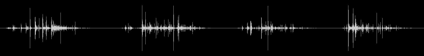 いくつかのシングルロックスタンブル...の未再生の波形
