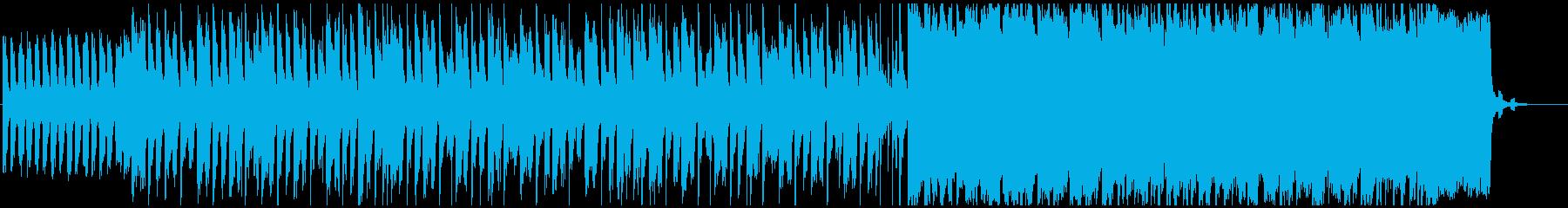 エッジの効いたパワフルなロックトラ...の再生済みの波形