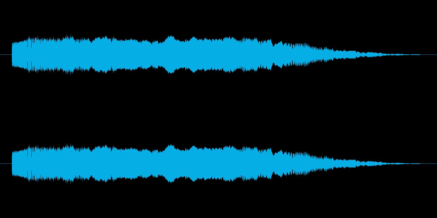 フィクション スペース レーザーブ...の再生済みの波形
