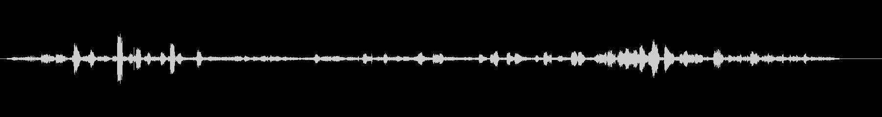 ユリカモメ(Mouette rie...の未再生の波形