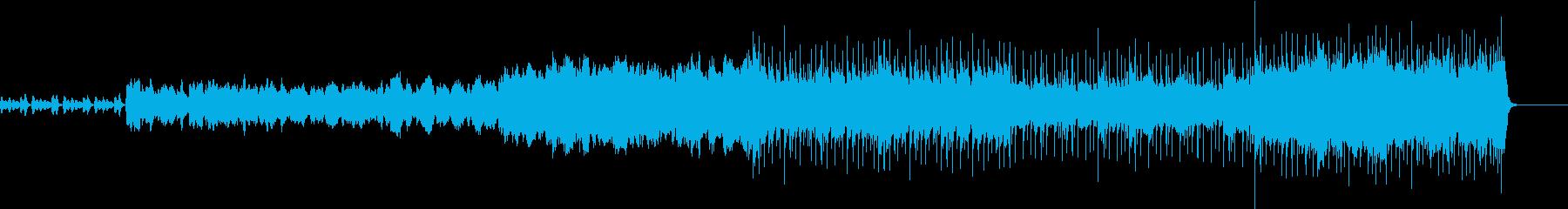 朝を連想させる目覚めのオーケストラ音楽の再生済みの波形