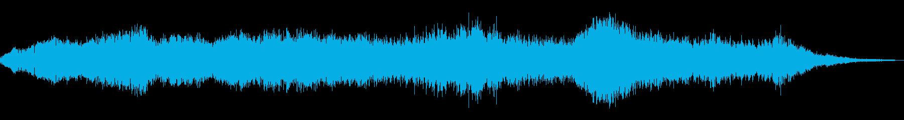 ふわふわしたハム、電気、アーキング...の再生済みの波形
