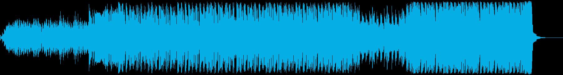 電気楽器。暗い、劇的な配信。脈打つ...の再生済みの波形