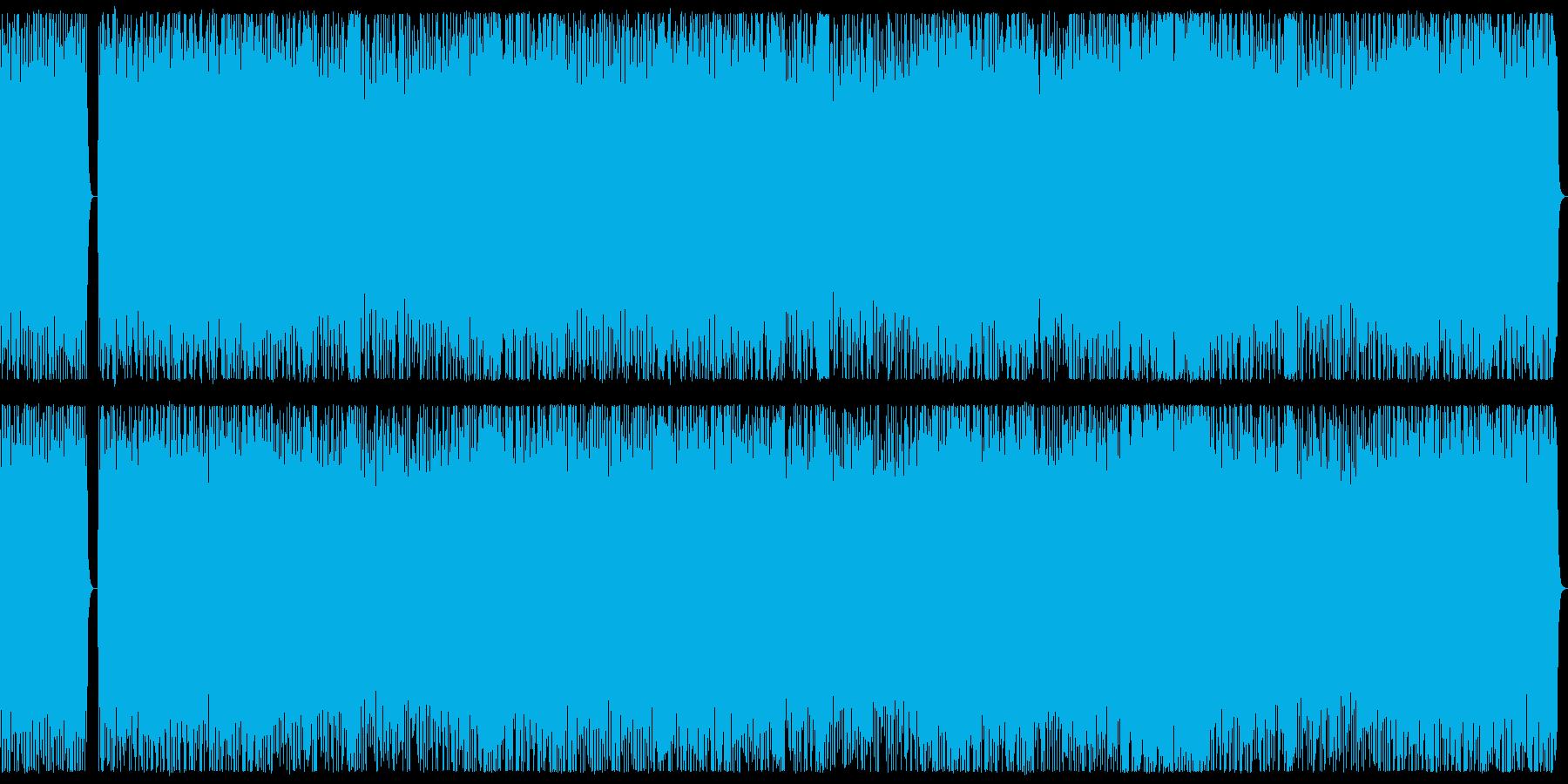 勇壮、ダークな3連系リズムのメタルBGMの再生済みの波形