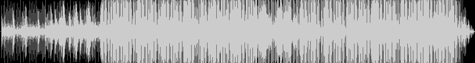 クールなHIPHOPビートの未再生の波形
