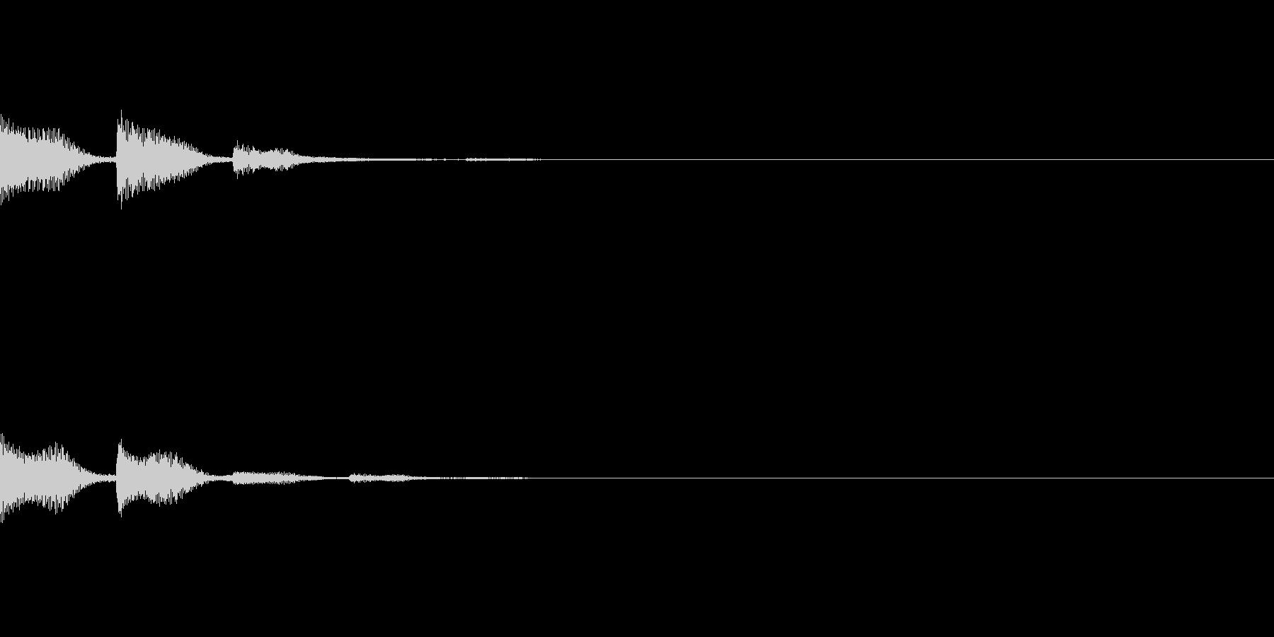 POPKEY ポップな通知音 3の未再生の波形