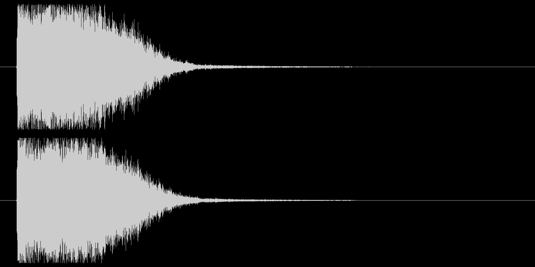 光りインパクト_魔法効果の未再生の波形