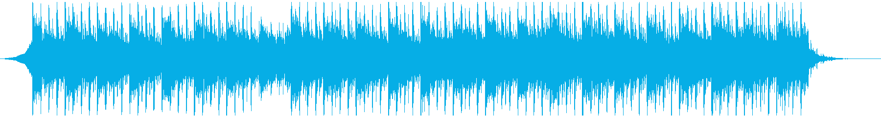 テクノロジー事業(60秒)の再生済みの波形