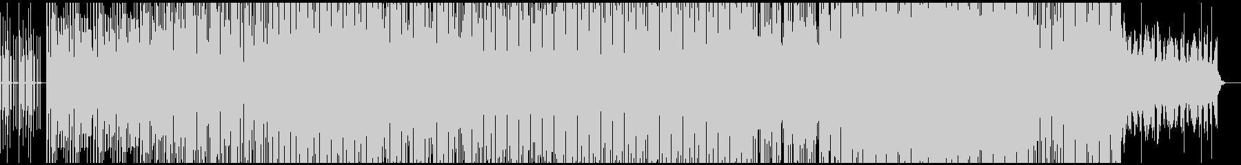 フィルターを動かしてる雰囲気のエレクトロの未再生の波形
