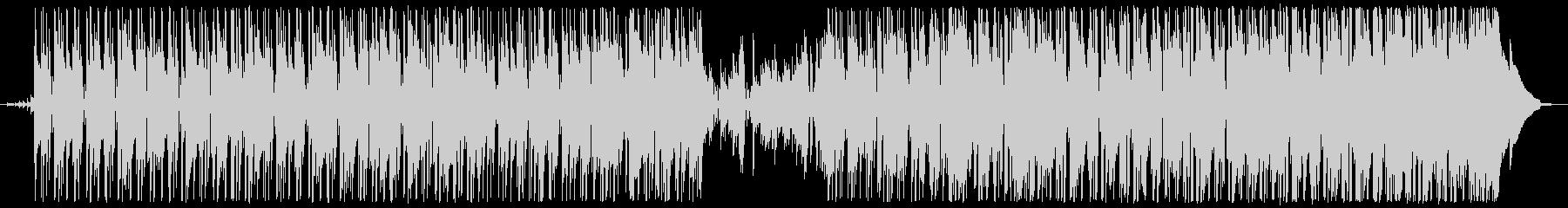 緊張感のあるクールなファンクBGMの未再生の波形